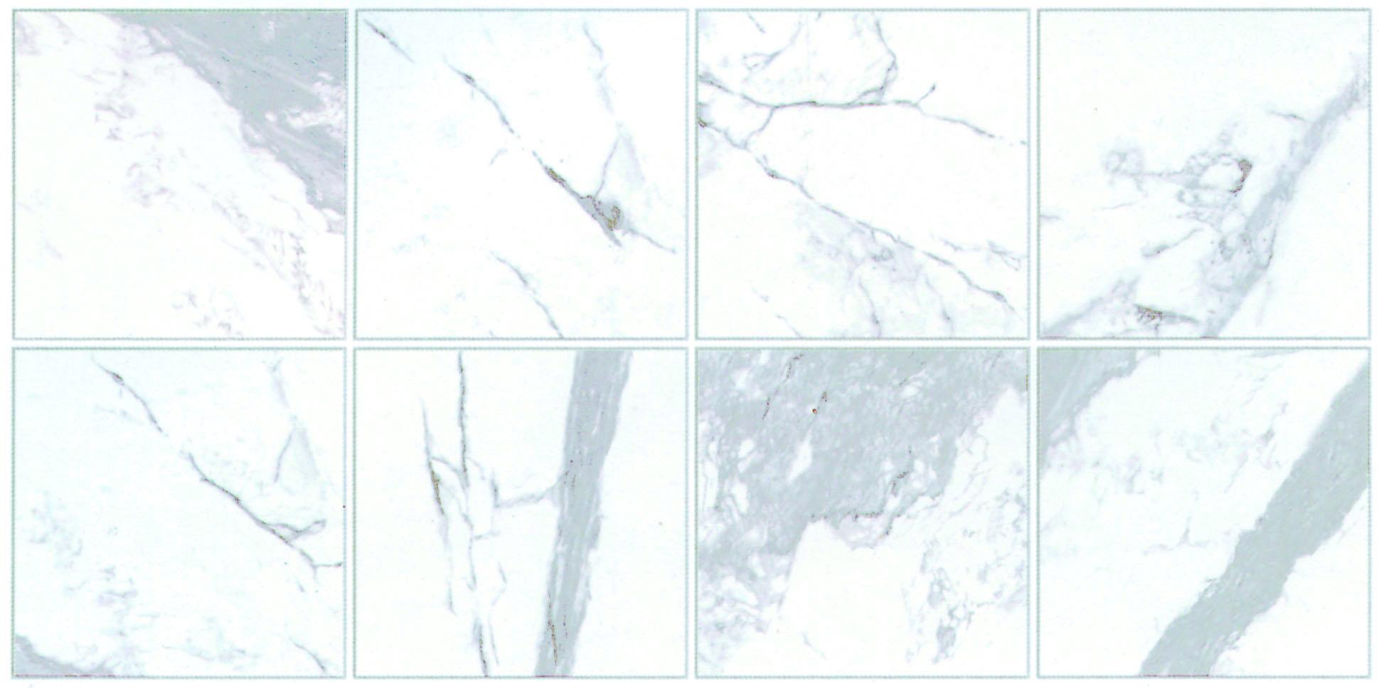 6種類以上のフェイスパタ-ンで、より天然大理石に近い表現を演出します。(品番により異なります)